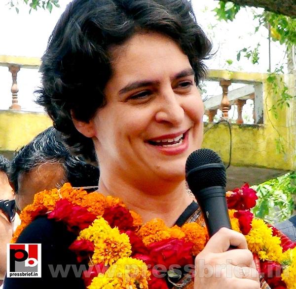 Priyanka Gandhi in Raebareli, UP (24) by Pressbrief In