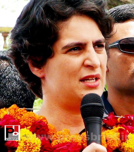 Priyanka Gandhi in Raebareli, UP (23) by Pressbrief In