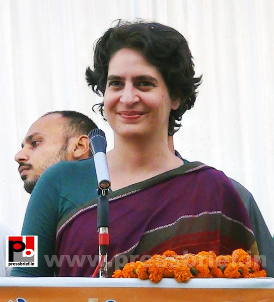 Priyanka Gandhi campaigns in Raebareli (13) by...