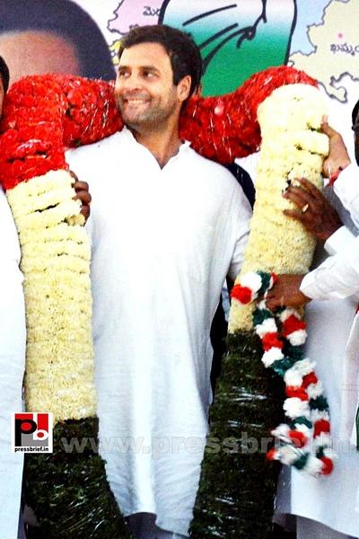 Rahul Gandhi in Hyderabad, AP (2) by Pressbrief In