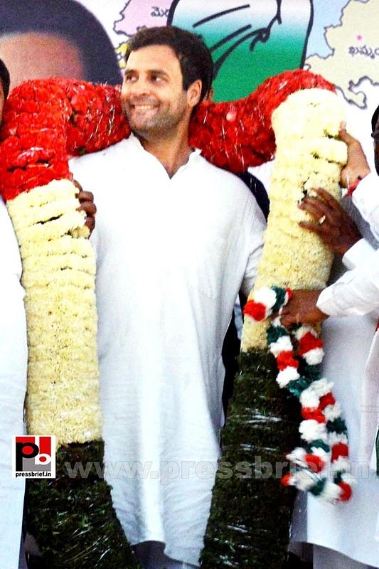 Rahul Gandhi in Hyderabad, AP (2)