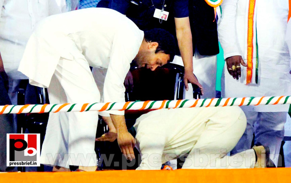 Rahul Gandhi in Hyderabad, AP (4) by Pressbrief In