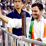 Rahul Gandhi in Hyderabad, AP