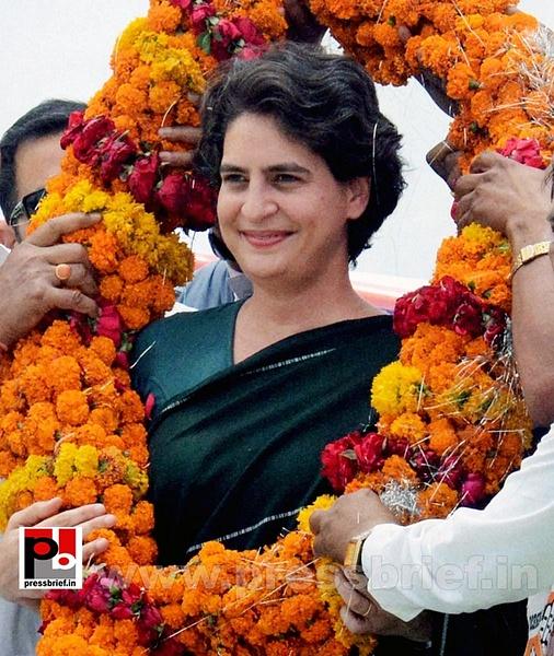 Priyanka Gandhi charms Raebareli (2) by Pressbrief In