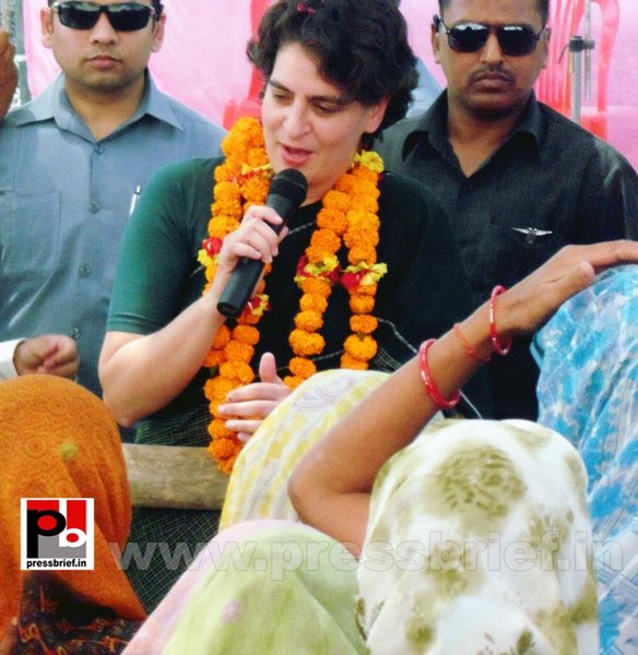 Priyanka Gandhi charms Raebareli (7) by Pressbrief In