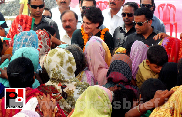 Priyanka Gandhi charms Raebareli (11) by Pressbrief In