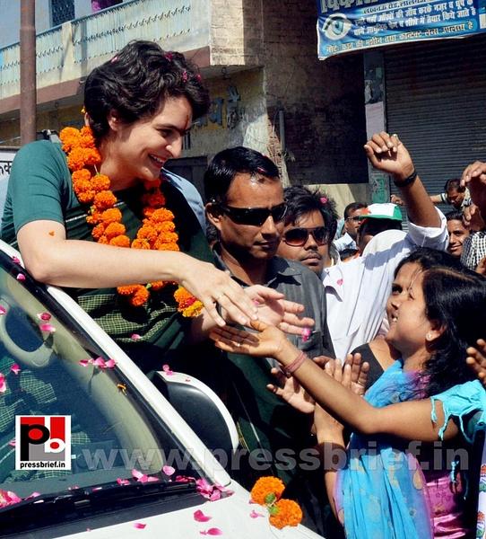 Priyanka Gandhi charms Raebareli by Pressbrief In
