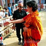 Priyanka Gandhi campaigns in Amethi