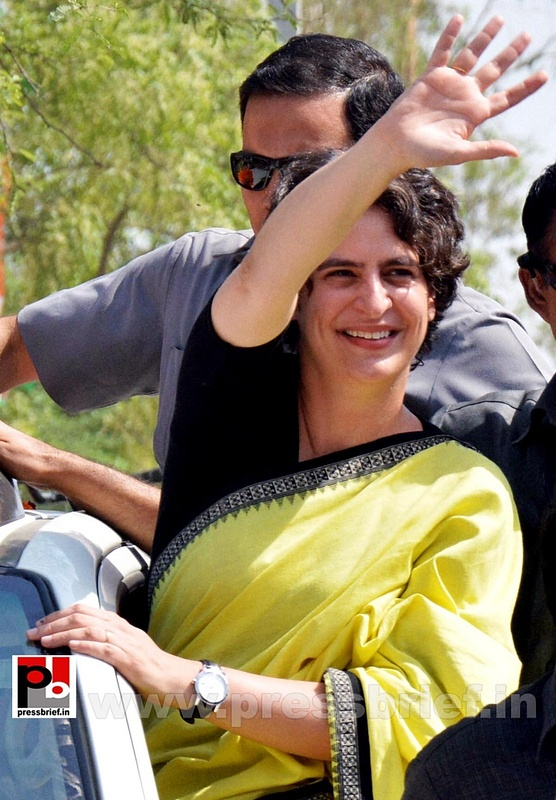 Priyanka Gandhi strikes chord with Raebareli (1)