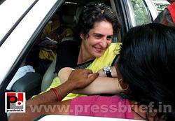 Priyanka Gandhi strikes chord with Raebareli