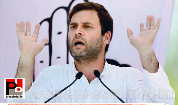 Rahul Gandhi at Bathinda, Punjab (3) by Pressbrief In