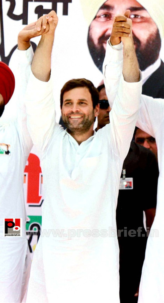 Rahul Gandhi at Bathinda, Punjab by Pressbrief In