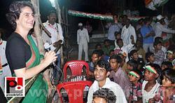 Priyanka campaigns for Rahul Gandhi