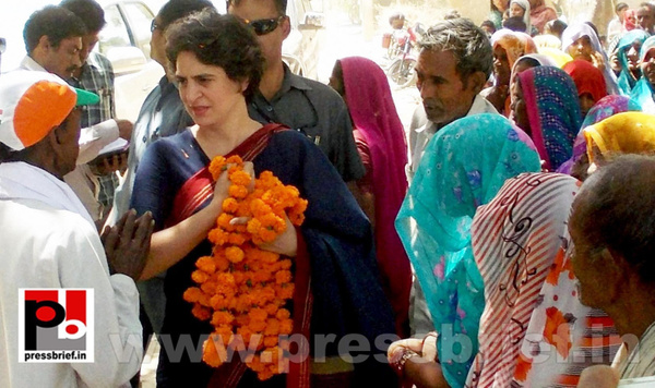 Priyanka Gandhi charms Amethi (4) by Pressbrief In