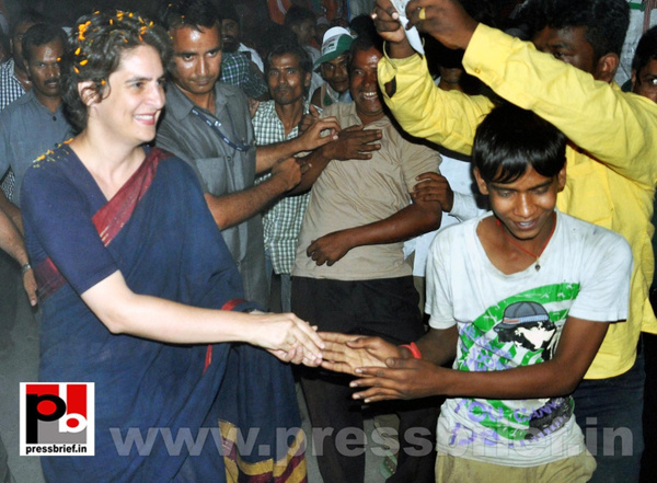 Priyanka Gandhi charms Amethi (2) by Pressbrief In