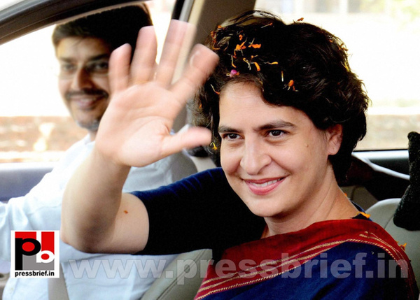 Priyanka Gandhi charms Amethi (5) by Pressbrief In