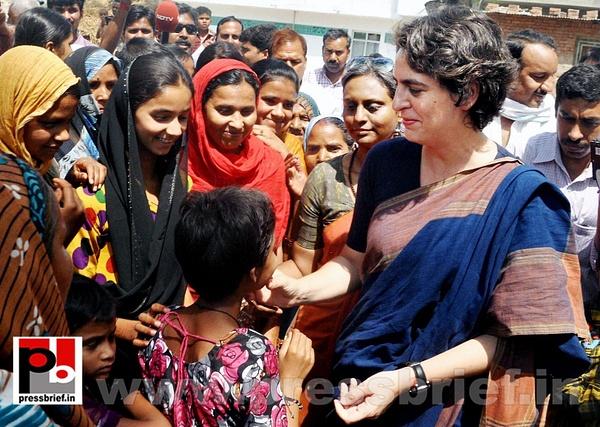 Real mass leader - Priyanka Gandhi (7) by Pressbrief In