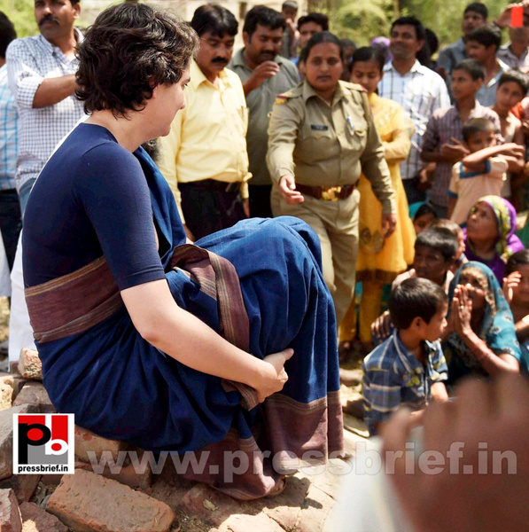 Real mass leader - Priyanka Gandhi (5) by Pressbrief In