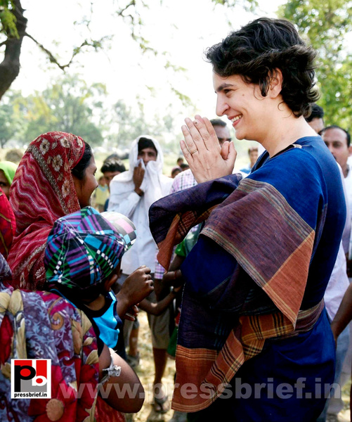 Real mass leader - Priyanka Gandhi (6) by Pressbrief In