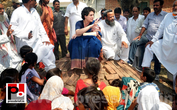 Real mass leader - Priyanka Gandhi (8) by Pressbrief In