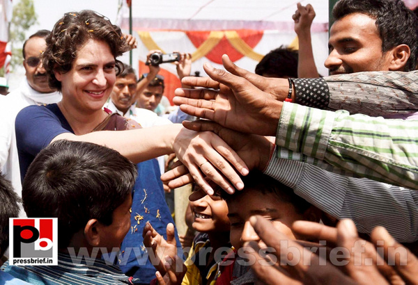 Real mass leader - Priyanka Gandhi (9) by Pressbrief In