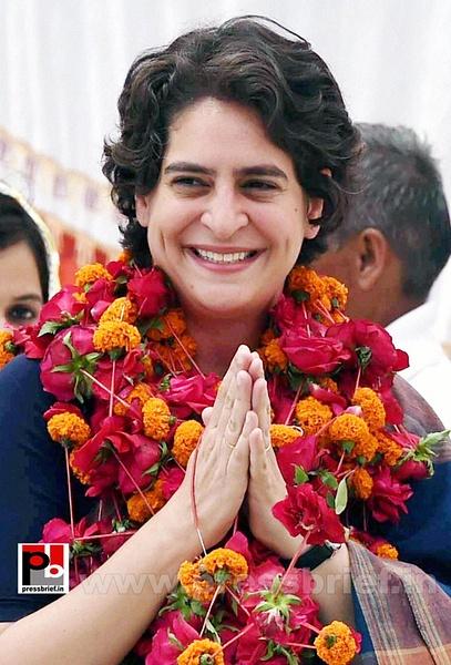 Real mass leader - Priyanka Gandhi (10) by Pressbrief In