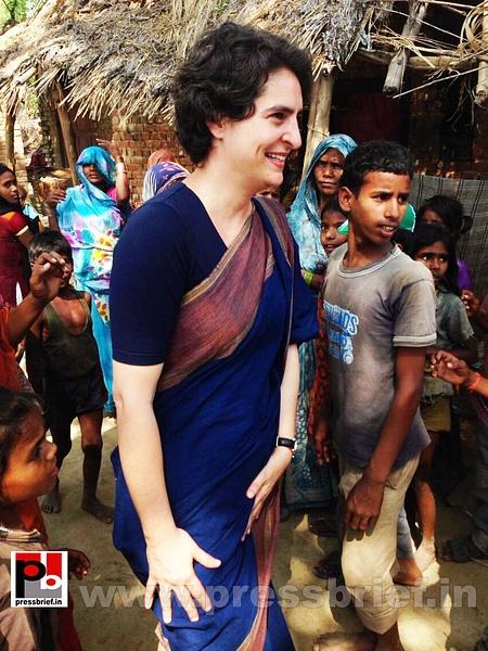Real mass leader - Priyanka Gandhi (12) by Pressbrief In