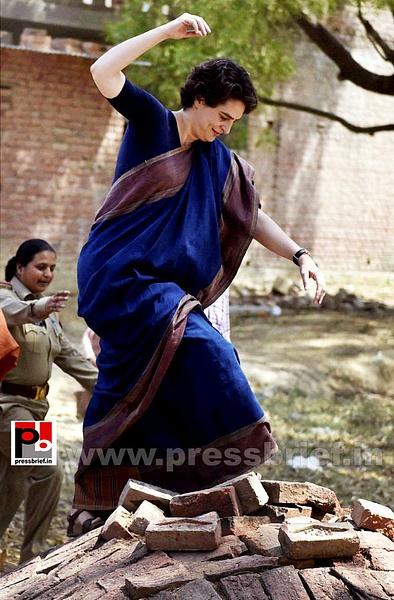 Real mass leader - Priyanka Gandhi (13) by Pressbrief In