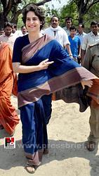 Real mass leader - Priyanka Gandhi