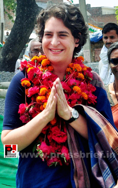 Real mass leader - Priyanka Gandhi (1) by Pressbrief In