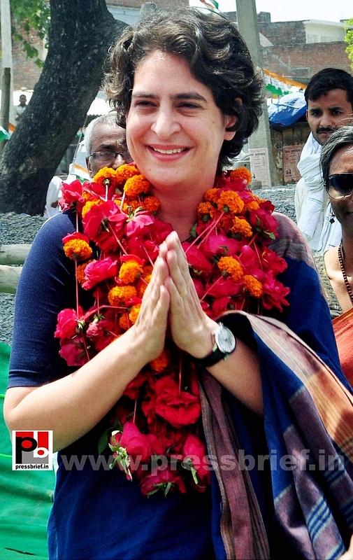 Real mass leader - Priyanka Gandhi (1)