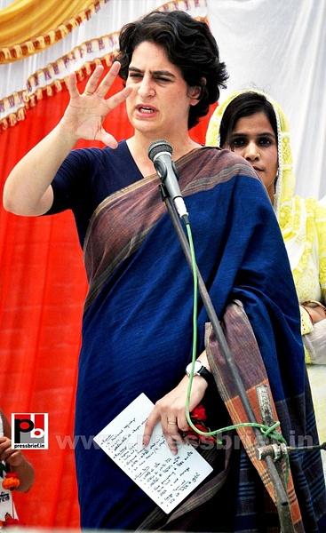 Real mass leader - Priyanka Gandhi (2) by Pressbrief In