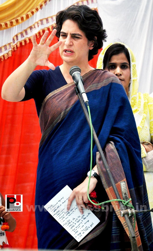 Real mass leader - Priyanka Gandhi (2)