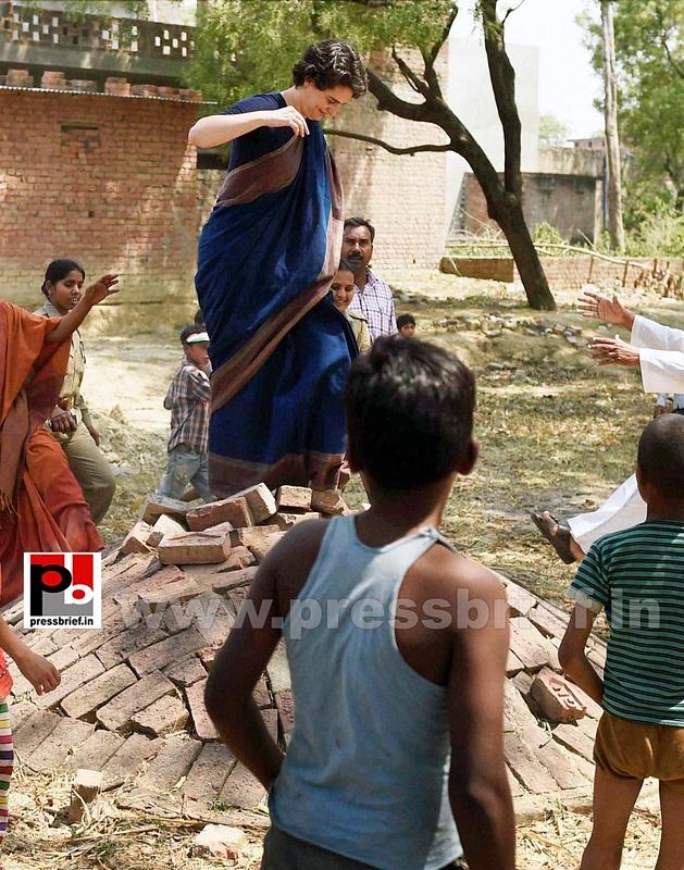 Real mass leader - Priyanka Gandhi (4)