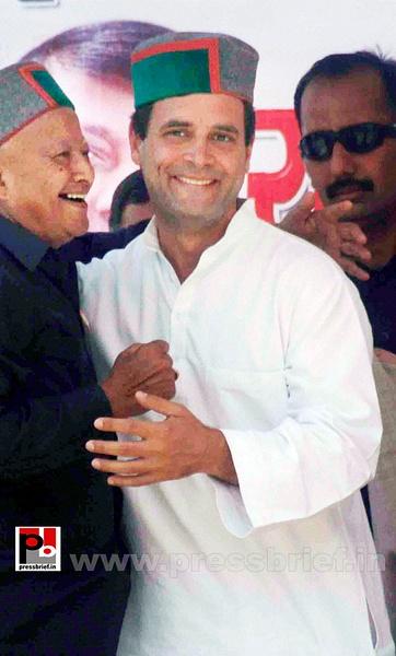 Rahul Gandhi in Bilaspur, HP (2) by Pressbrief In