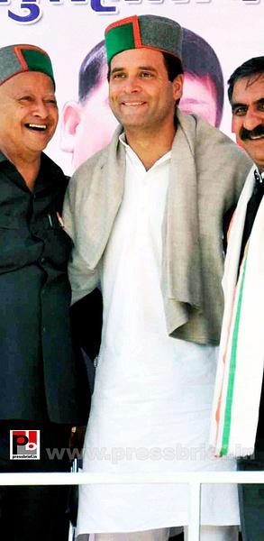 Rahul Gandhi in Bilaspur, HP (5) by Pressbrief In