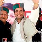 Rahul Gandhi in Bilaspur, HP