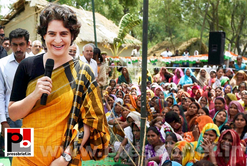 Priyanka Gandhi strikes chord with Amethi (2)