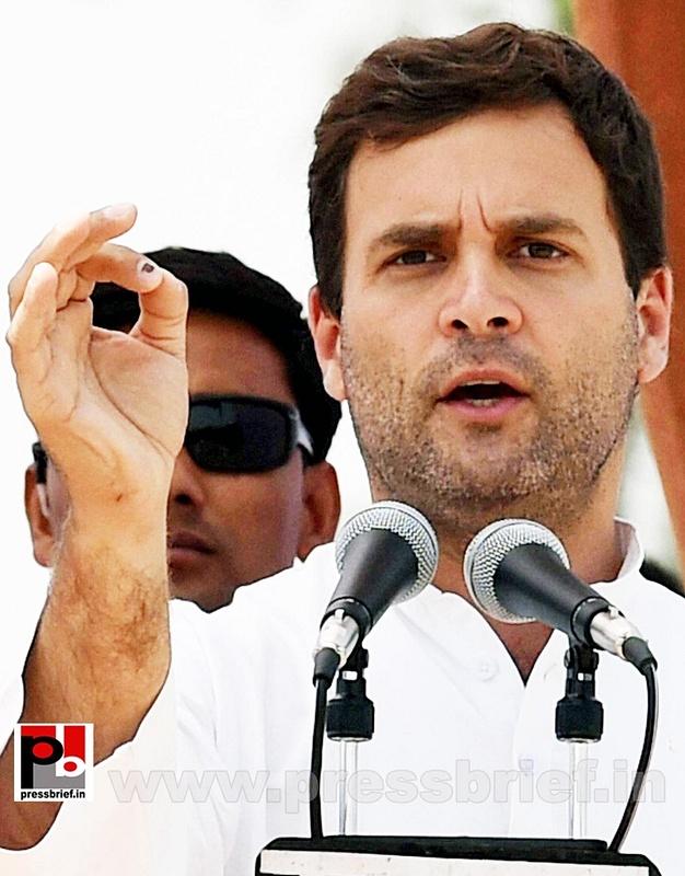 Rahul Gandhi addresses rally in Amethi (6)