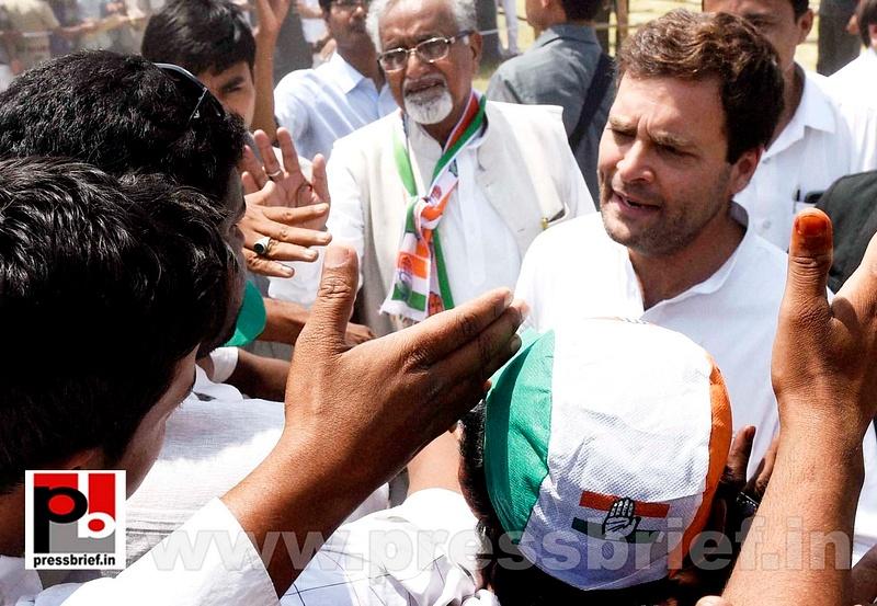 Rahul Gandhi addresses rally in Amethi (7)