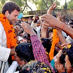 Rahul Gandhi addresses rally in Amethi