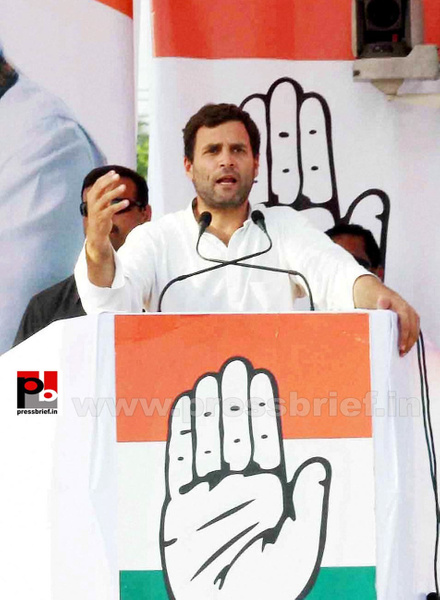 Rahul Gandhi addresses rally in Allahabad (3) by...