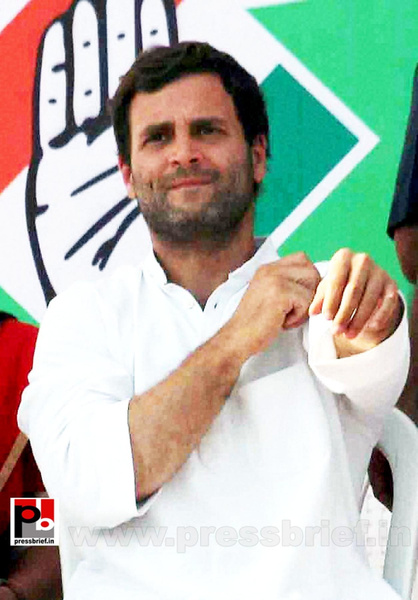 Rahul Gandhi addresses rally in Allahabad (4) by...