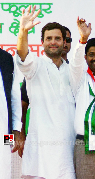Rahul Gandhi addresses rally in Allahabad (6) by...