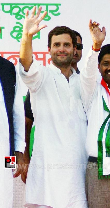 Rahul Gandhi addresses rally in Allahabad (6)