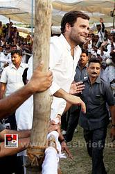 Rahul Gandhi addresses rally in Allahabad