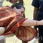 Sonia Gandhi in Muzaffarpur, Bihar