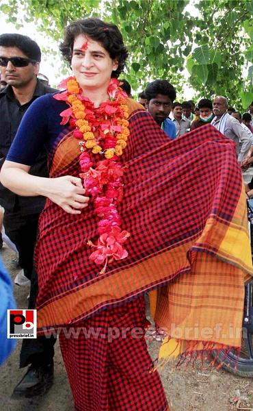 Charismatic Priyanka Gandhi in Amethi (3) by Pressbrief...