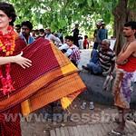 Charismatic Priyanka Gandhi in Amethi
