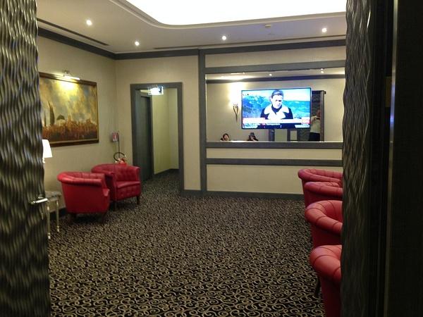 Hotel Artemide Rome March 2015 by AlisonLucking